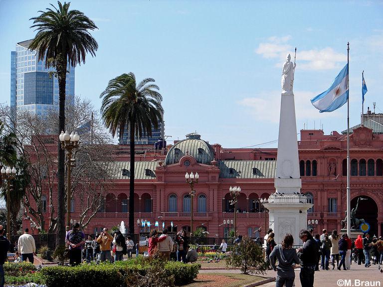 Casa Rosada - das Regierungsgebäude