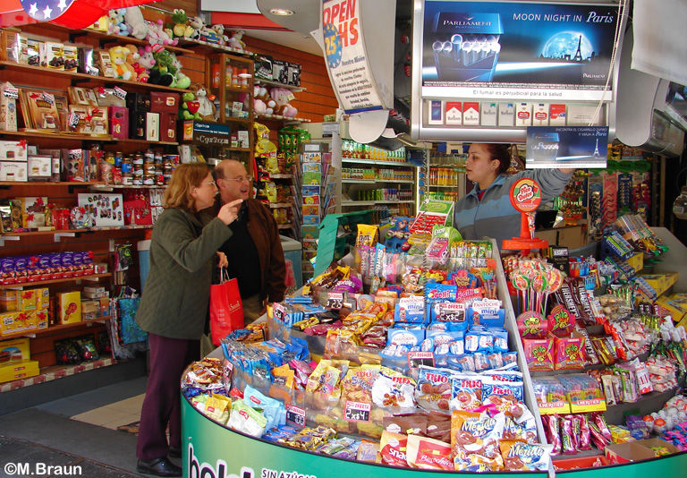 Kiosk - Die Argentinier lieben Süßigkeiten