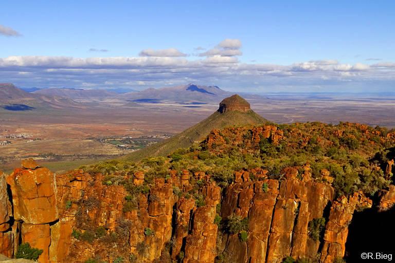 Am oberen Aussichtspunkt-Blick vom Valley of Desolation