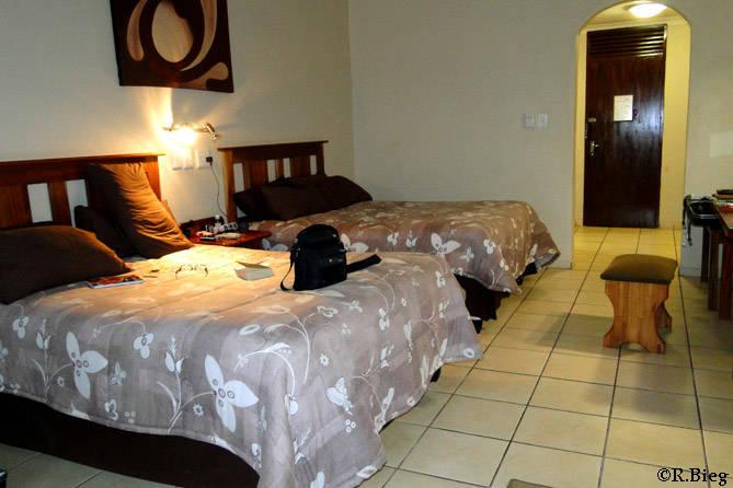 Das Zimmer in der Mashutti Country Lodge