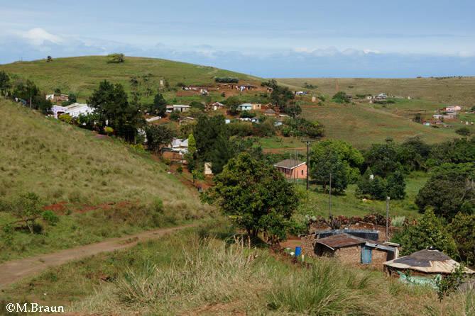 Unterwegs zu den Drakensbergen