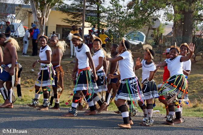 Die Stämme Südafrikas feiern ihr kulturelles Erbe