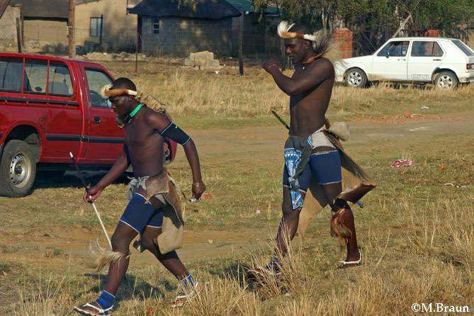 Traditionelle Kleidung zum Heritage Day