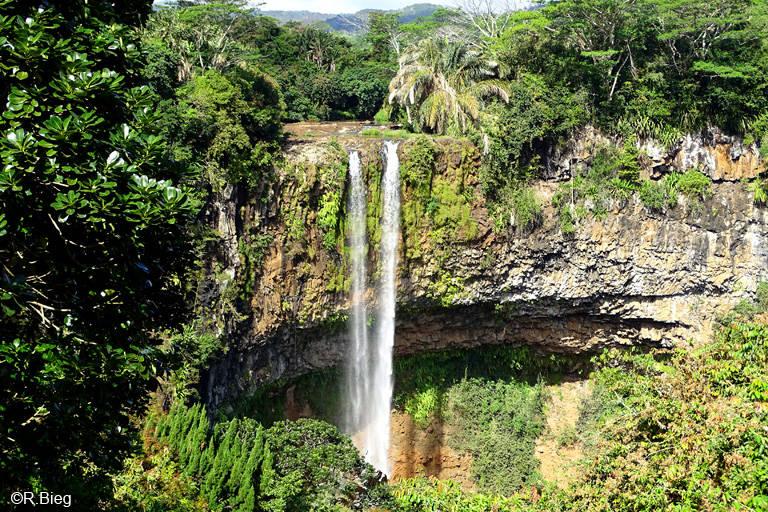 Der Wasserfall von Chamarel