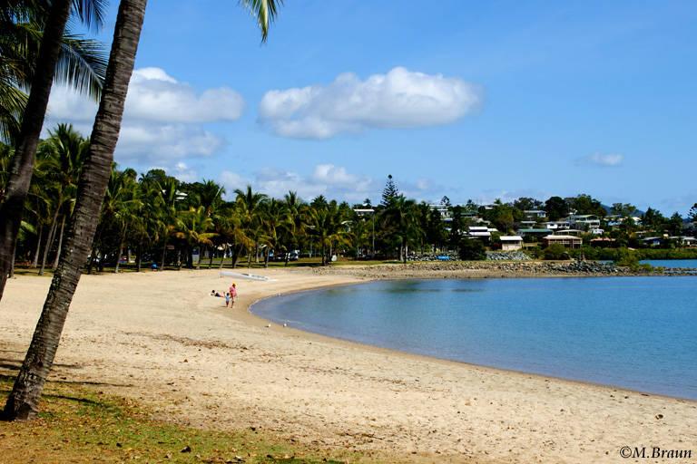 Stadtstrand in Airlie Beach