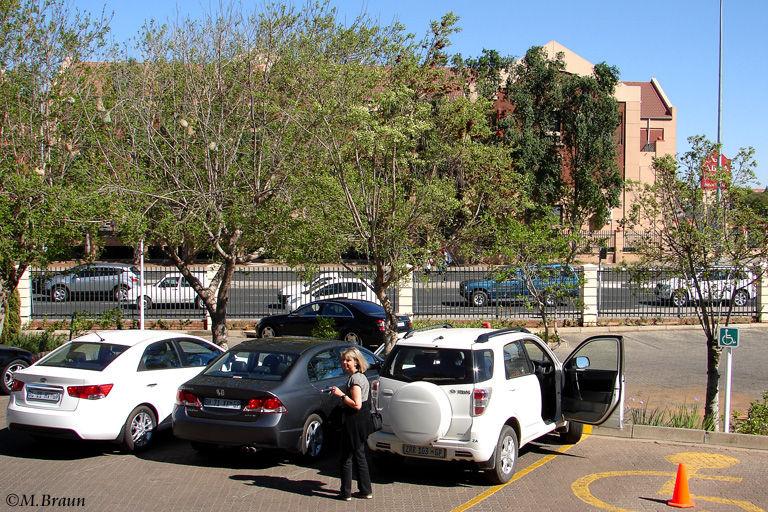 Endlich haben wir Bloemfontein erreicht