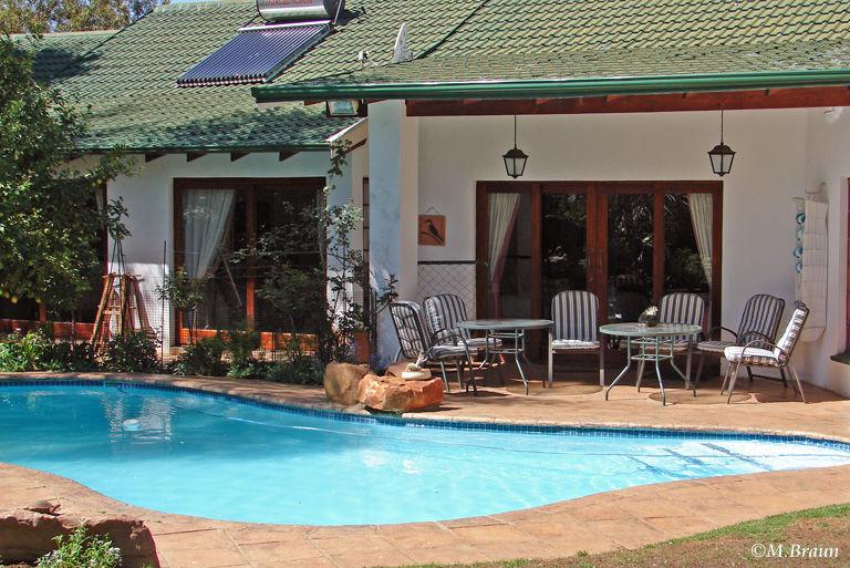 Das Sindisa Gästehaus - hier übernachteten wir in Middelburg