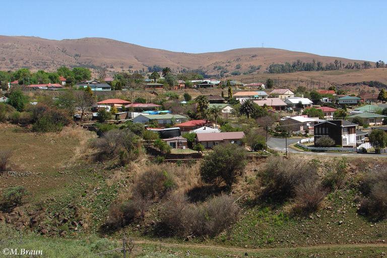 Landschaft am Übergang vom Highveld zum Lowveld vor Erreichen des Krüger Parks
