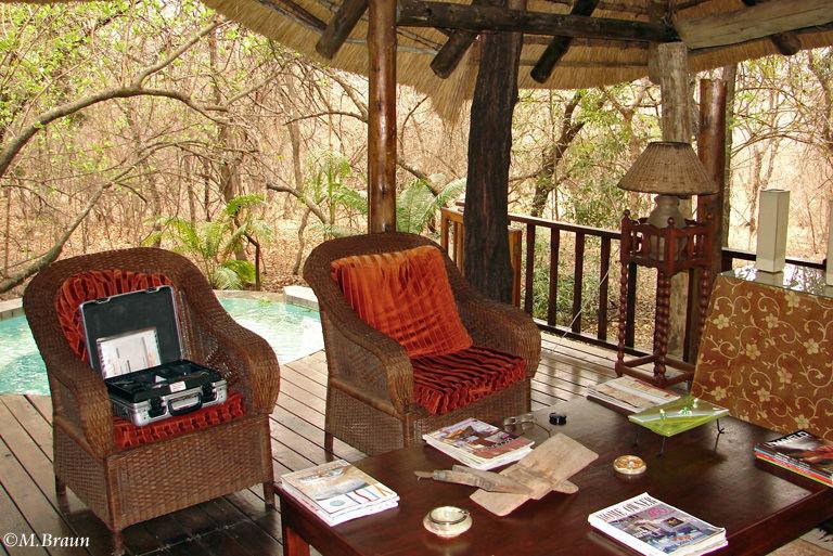 Die gemütliche Maqueda Lodge