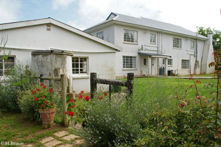 Das Farmhaus in Addo wurde zu unserer Unterkunft