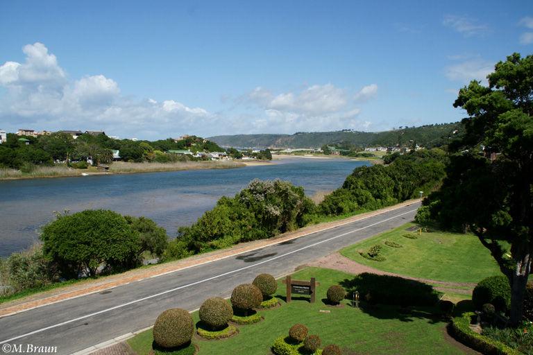 Blick vom Wilderness Manor auf den Touws River