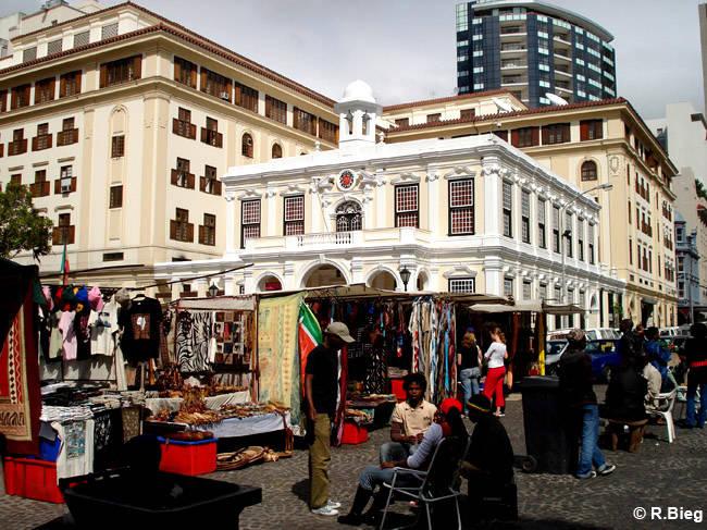 er Green Market Square in der Innenstadt