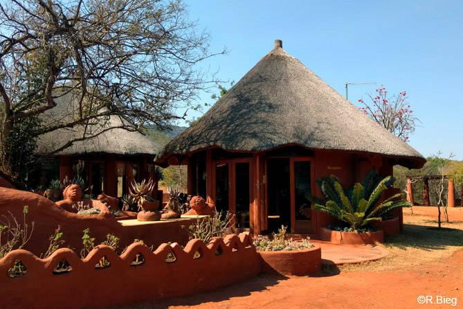 Die Rezeption der Venda Village Lodge