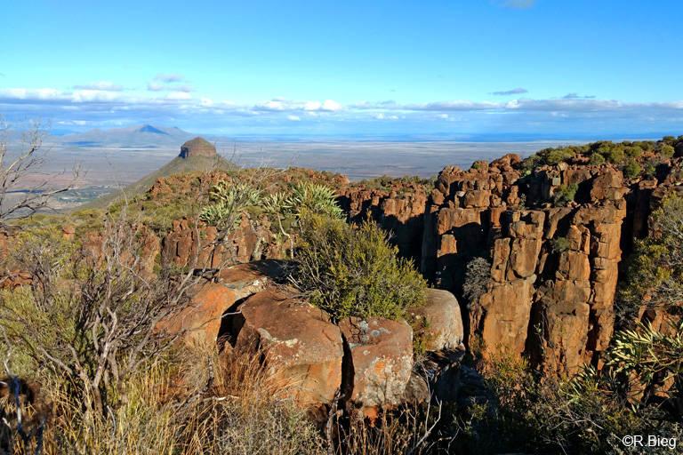 Blick vom Valley of Desolation