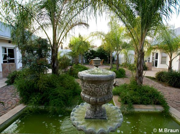Der Hotelgarten