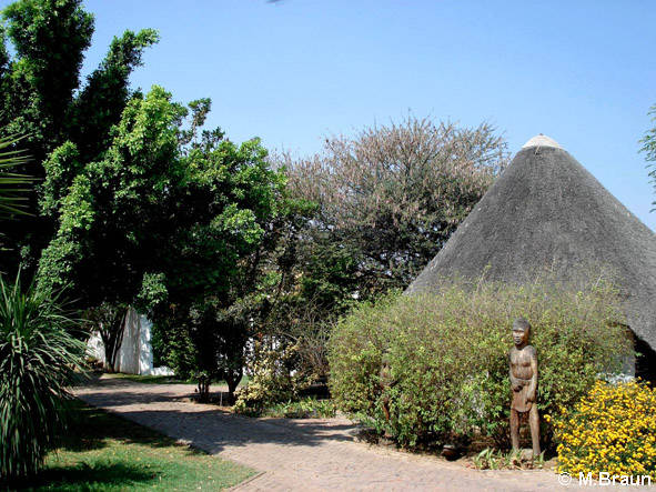 Die Out of Africa Lodge in Otjiwarongo