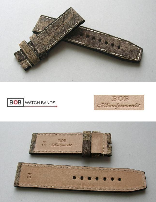 BOB-HANDMADE-Vintage-PREMIUM-ECHTLEDERBAND-24mm-Fighter-8-fuer-Breitdornschliesse