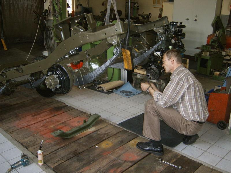 willys overland -jeep -m38a1 - m38 restauration KFZ - Oldtimer ...