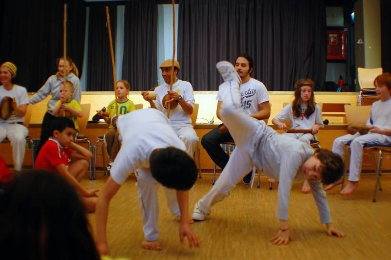 Capoeira Kids Ostern Freizeitheim Linden