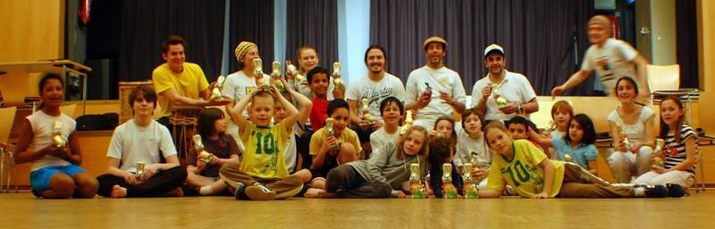 Oster Capoeira Kinder FZH Linden