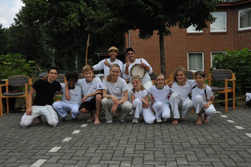 Capoeira Auftritt Pinx Schwarmstedt