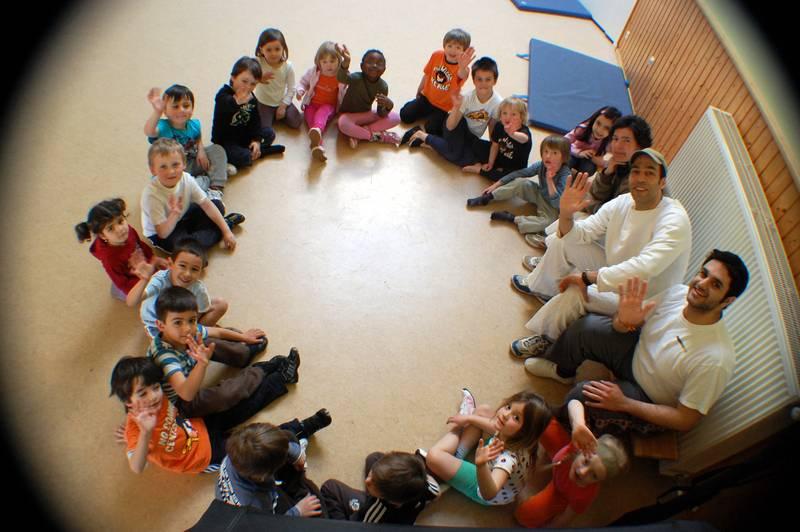 Capoeira im Kindergarten CJD
