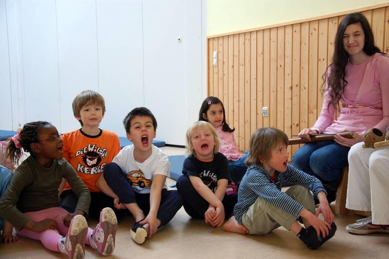 Kinder Capoeira Musik CJD Hannover
