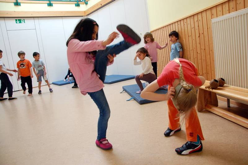 Kinder Capoeira CJD Hannover