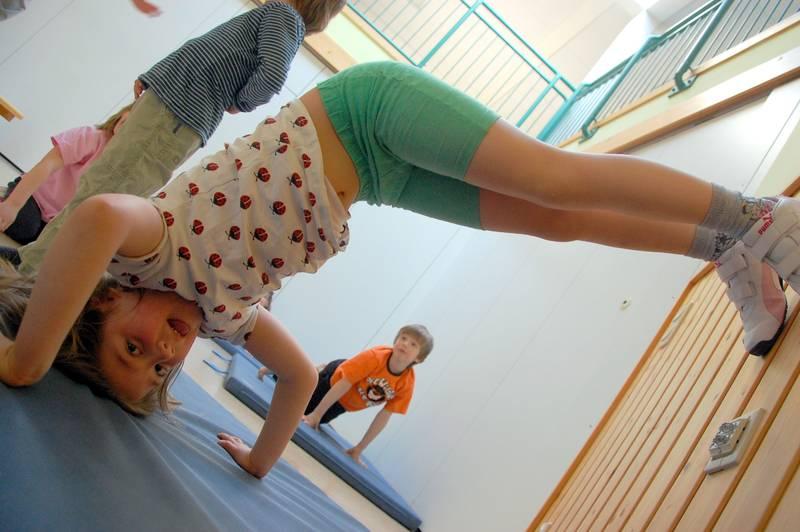 Capoeira Akrobatik Kindergarten CJD Hannover