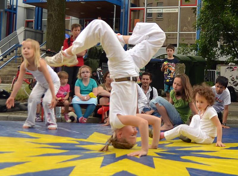 Kinder Capoeira Schwarmstedt - Akrobatik