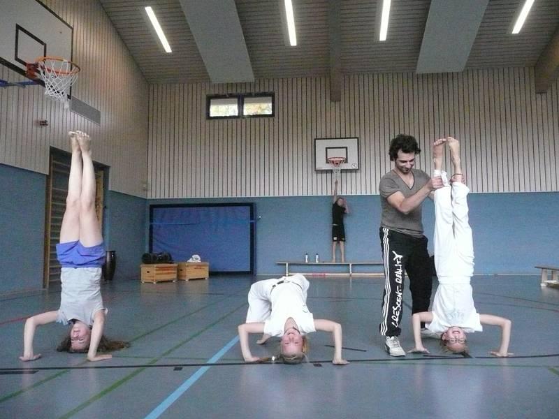 Capoeira Turnhalle KGS Schwarmstedt
