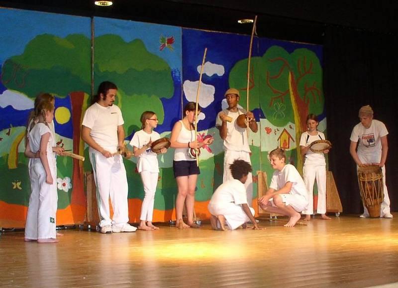 Capoeira Auftritt Pinx - KGS Schearmstedt