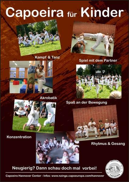 Capoeira für Kinder Grundschule Linden Hannover