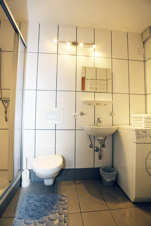 Badezimmer Ferienwohnung am 1 Stock