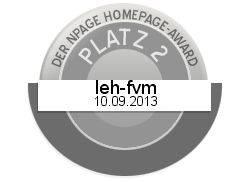 Homepage - Award 2013