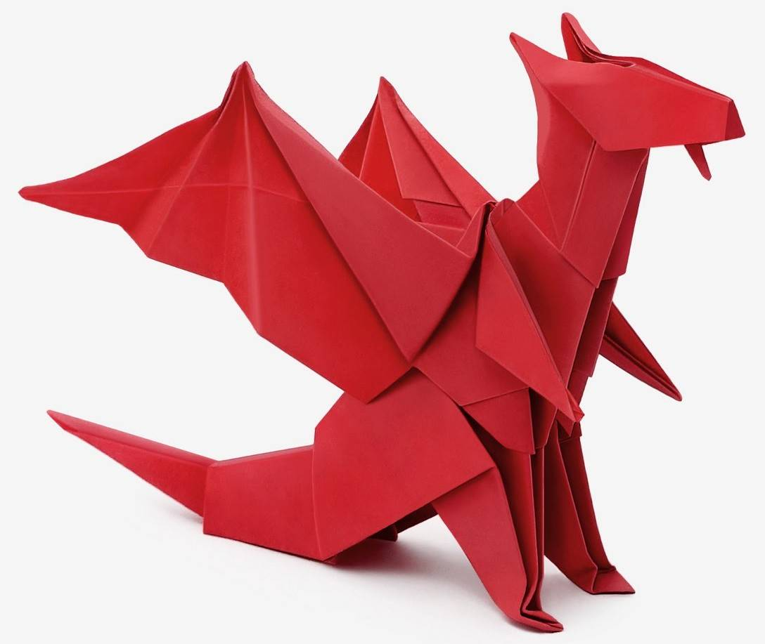 origami drachen my blog. Black Bedroom Furniture Sets. Home Design Ideas
