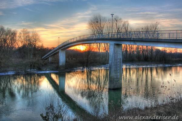 Erfelden Kühkopfbrücke