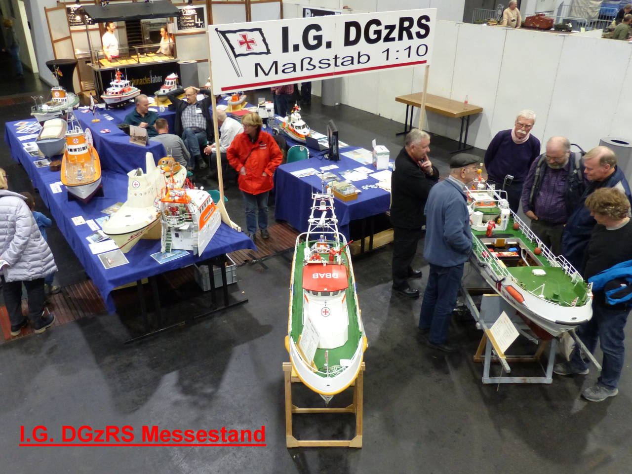 I.G. DGzRS Messestand