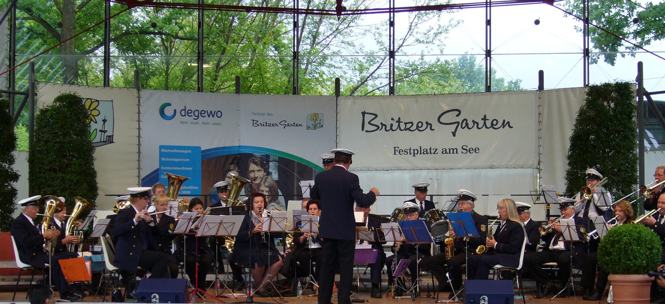 Auftritt 2009 in berlin britzer garten bundesgartenschaugelände