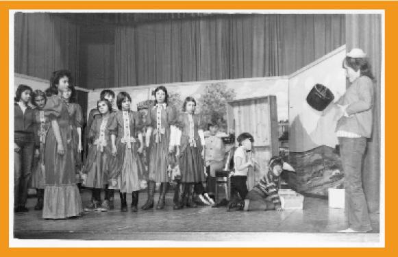 """Premiere """"Der Schweinehirt"""", Pioniertheater Menteroda"""