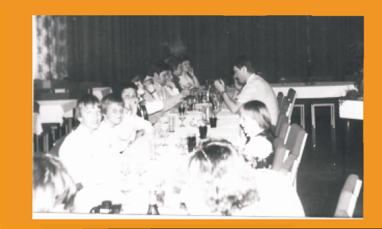 Premierenfeier im Klubhaus Menteroda 1983