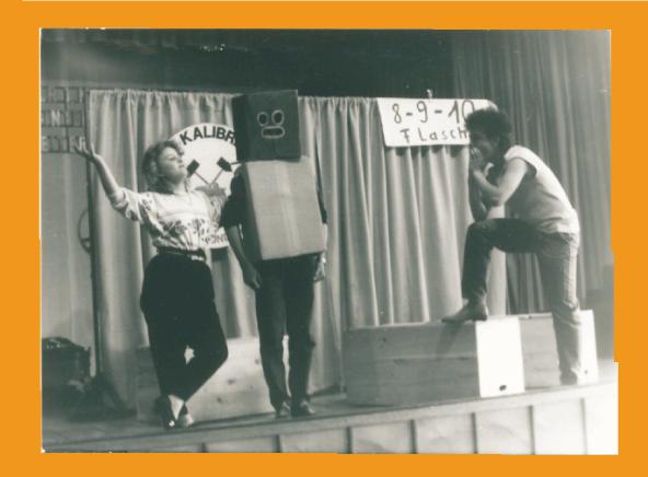 Szene aus dem Programm von 1986