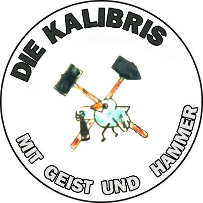 Logo: Mit Geist und Hammer