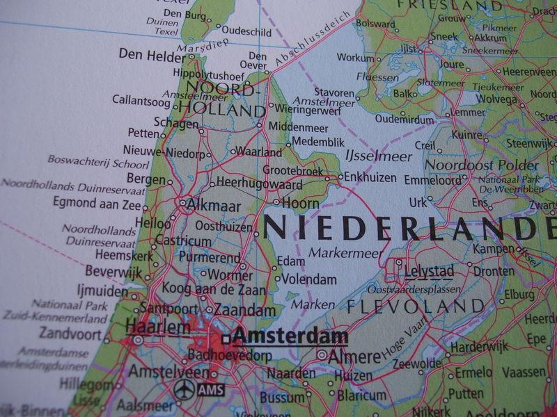 nordholland karte Nordholland Karte