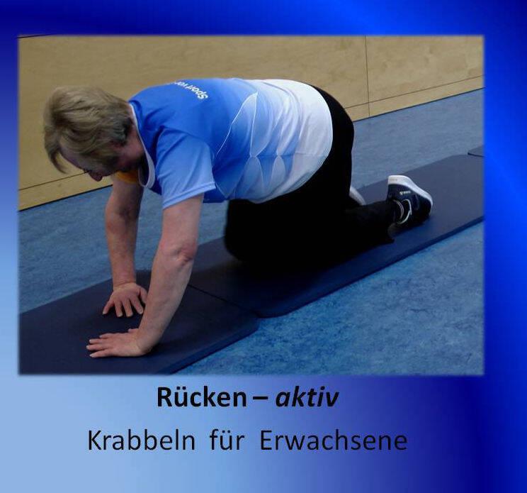 Rücken - aktiv Krabbeln für Erwachsene