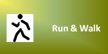 Run & Walk - Ein Klick