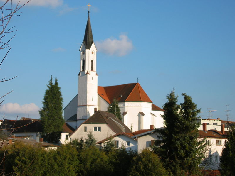 St.Oswald-Kirche in Marktl