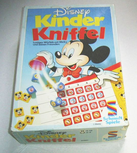 Kinder Kniffel Block