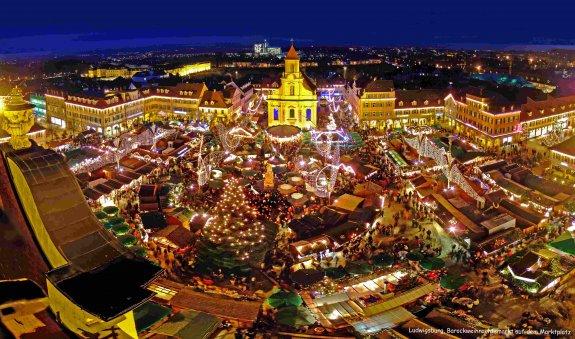 Ludwigsburg Weihnachtsmarkt.Freie Turnerschaft Pfeddersheim
