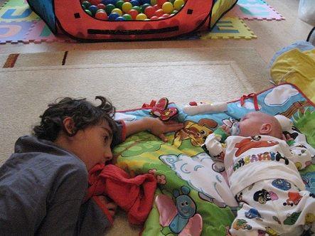 baby nach luft schnappen im schlaf